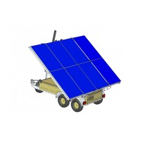 ATLAS 2KW SOLAR POWER TRAILER