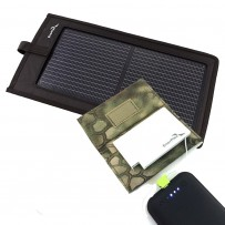 A3E 3W MINI USB SOLAR KIT (3W Solar +  1,350Mah USB Battery + Pouches)